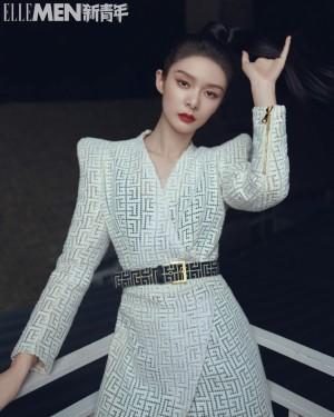 傅菁时尚潮流写真图片