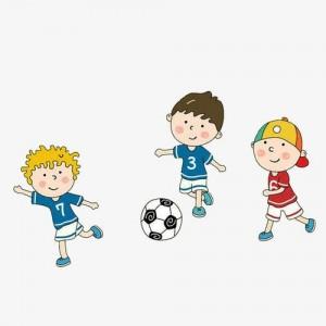 足球卡通素材壁纸