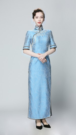 angelababy旗袍造型优雅高清手机壁纸