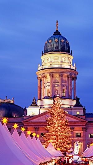 圣诞的德国市场