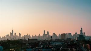 芝加哥繁荣风景高清桌面壁纸