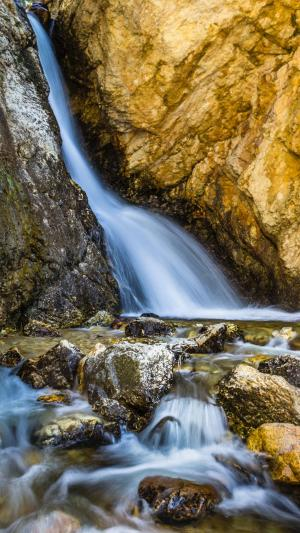 溪水瀑布图片大全自然美景手机壁纸
