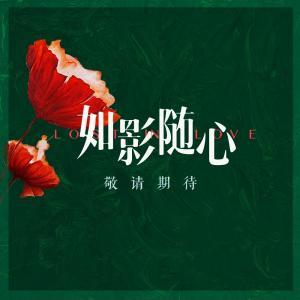 陈晓杜鹃都市爱情片《如影随心》签名文字高清海报