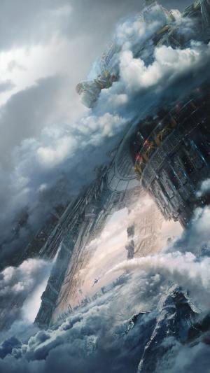 科幻电影《流浪地球》手机壁纸