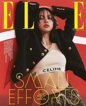 Lisa时尚杂志封面写真