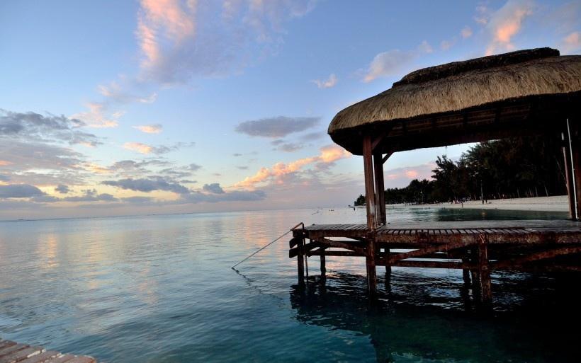 非洲毛里求斯风景图片