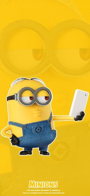 小黄人卡通手机壁纸