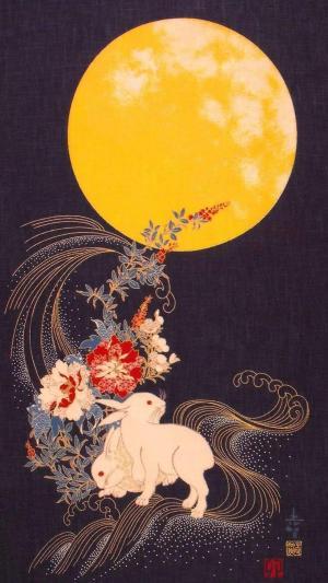 中秋节快乐高清手机壁纸图片