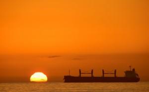 唯美夕阳自然风光图片壁纸