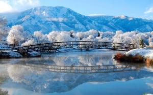 二十四节气之立冬雪景高清电脑壁纸