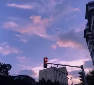 梦幻般的天空夕阳晚霞唯美意境
