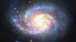 璀璨明亮的星空梦幻夜景