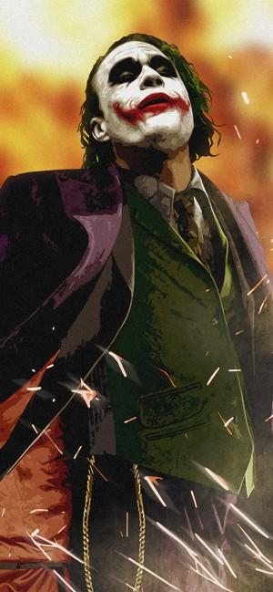 DC反派人物小丑高清手机壁纸