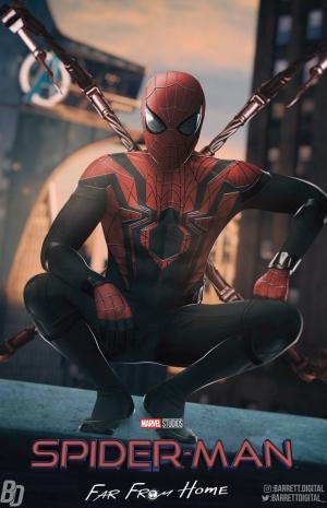 漫威超级英雄大片《蜘蛛侠:英雄远征》官方海报