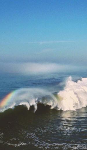 唯美意境的海边图片