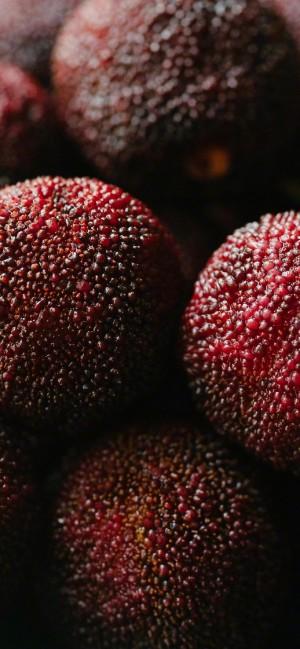 新鲜水果杨梅高清手机壁纸