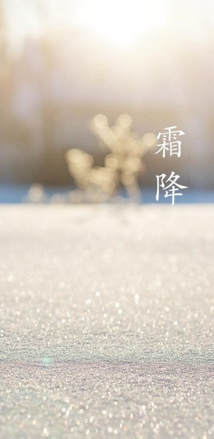 24节气霜降唯美手机壁纸 第二辑
