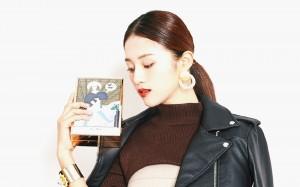 安悅溪時尚靚麗寫真圖片桌面壁紙