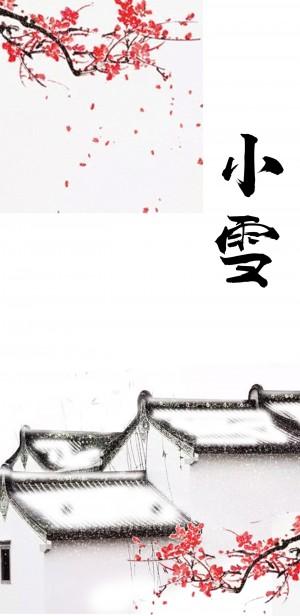 小雪时节之白茫茫的屋顶