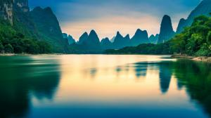 桂林山水 广西阳朔风景壁纸