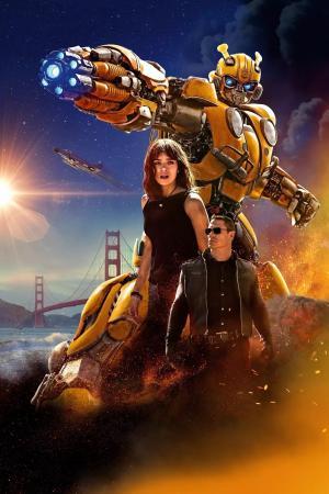 变形金刚系列电影《大黄蜂》海报图片
