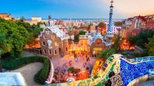 巴塞罗那高清风景图片