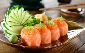 寿司美食唯美高清桌面壁纸