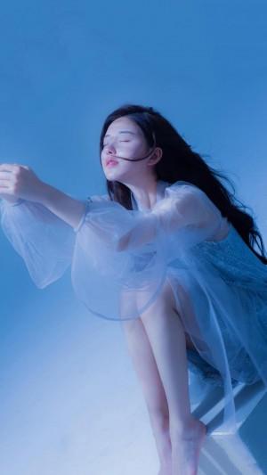 仙气青春少女赵露思甜美小清新气质迷人写真