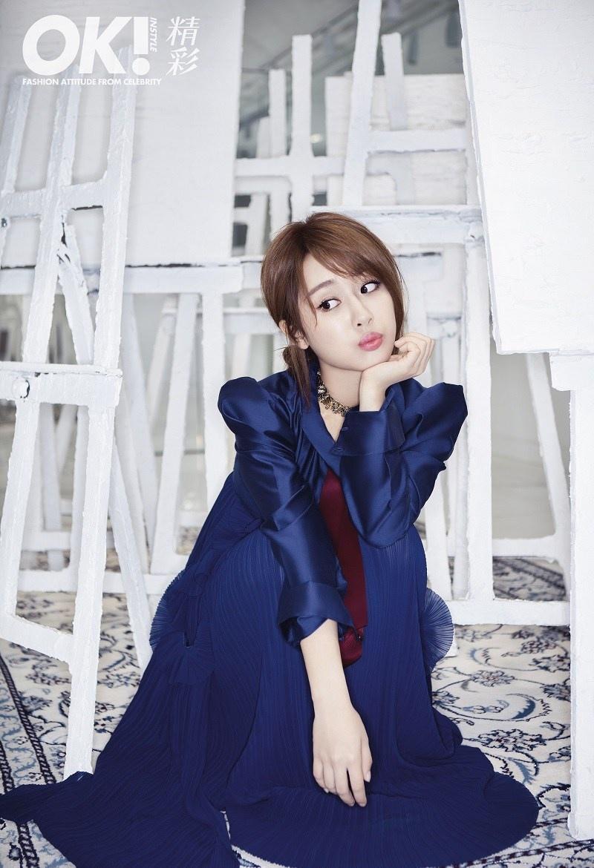 时尚小妞杨紫再登杂志封面写真