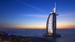 迪拜帆船酒店风景壁纸图片