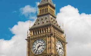 历史悠长的英国大本钟
