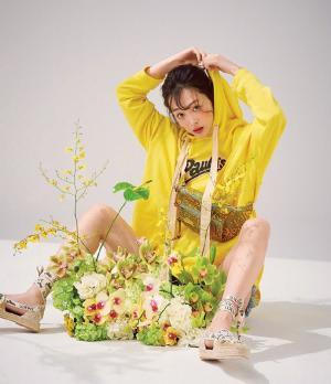 崔雪莉春日清新时尚杂志写真