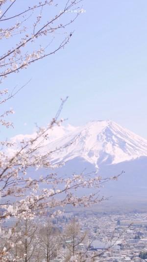 富士山唯美风景壁纸图片
