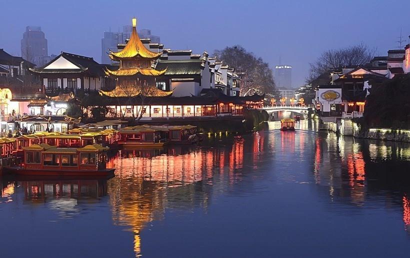 南京夫子庙风景图片