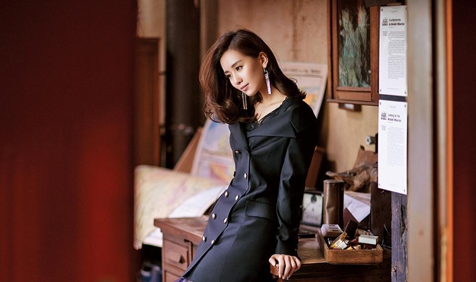 刘诗诗成熟魅力时尚杂志时尚写真