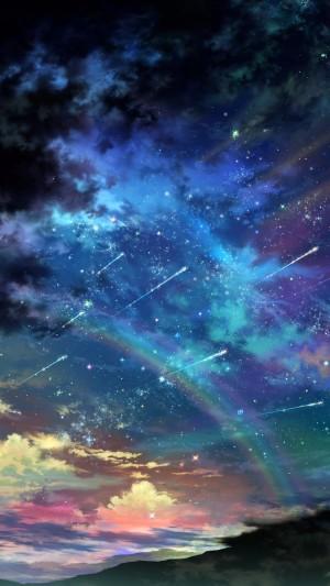 唯美意境梦幻星空个性图片壁纸