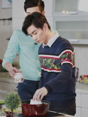 陈晓《星级小厨房》节目图片