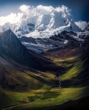 秘魯徒步旅行者的天堂