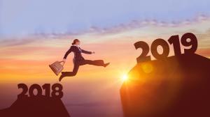 跨越2018迎接2019,展望2019图片