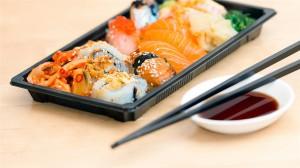 美味精致的寿司高清桌面壁纸