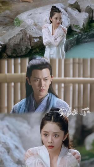 《锦衣之下》男女主演三连图