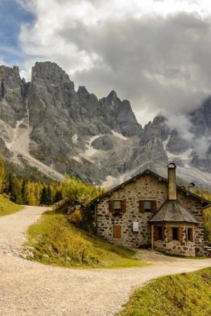 秀丽迷人的山水风景手机壁纸