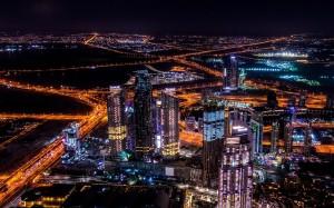 城市美麗迷人夜景圖片壁紙