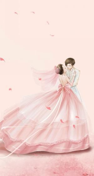 爱情浪漫手绘图片